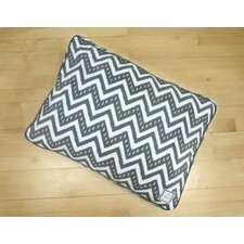 Fair Isle Crate Rectangle Pet Bed