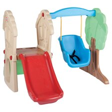 Hide & Seek Climber Swing Set