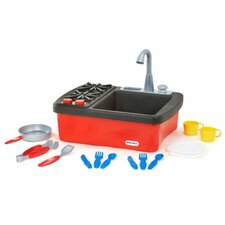 Splish Splash 13 Piece Sink and Stove Play Set
