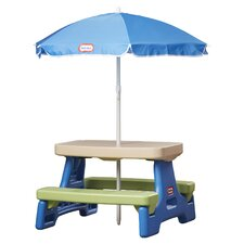 Easy Store Jr. Table with Umbrella
