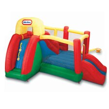 Double Fun Slide 'n Bounce Bouncer
