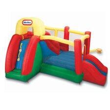 Double Fun Slide 'n Bounce Bouncer