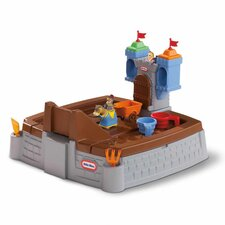 Castle Adventures Rectangular Sandbox