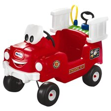 Spray and Rescue Push Fire Truck