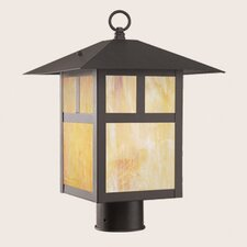 Montclair Mission 1 Light Outdoor Post Light