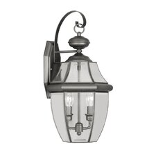 Monterey 2 Light Outdoor Wall Lantern