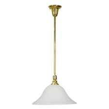 Gas Light  Pendant in Polished Brass