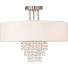 Carlisle 4 Light Semi-Flush Mount
