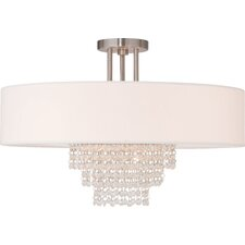 Carlisle 5 Light Semi-Flush Mount
