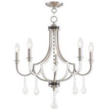 Glendale 5 Light Crystal Chandelier