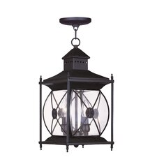 Providence 2 Light Outdoor Hanging Lantern