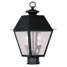 Mansfield 2 Light Outdoor Post Light