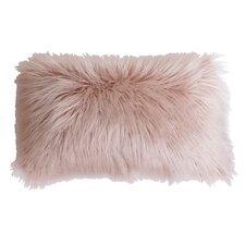 Keller Faux Mongolian Lumbar Pillow