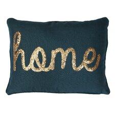 Home Sequin Lumbar Pillow