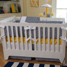 Sam 4 Piece Crib Bedding Set