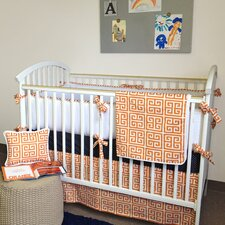 Alex 3 Piece Crib Bedding Set