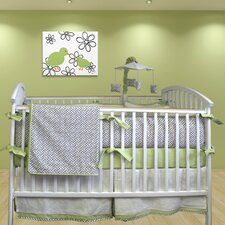 Metro 3 Piece Crib Bedding Set