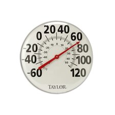 "Extra Large 18"" Metal Thermometer"