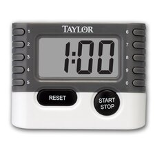 Classic 10 Key Digital Timer (Set of 6)
