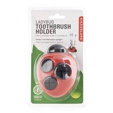 Ladybug Toothbrush Holder (Set of 3)