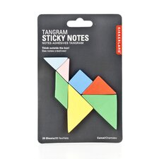 Tangram Sticky Notes (Set of 3)