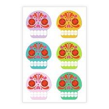 Sugar Skulls Vinyl Magnets (Set of 4)