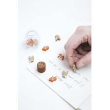 Woodlands Erasers (Set of 33)