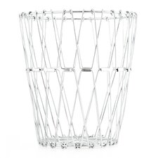 Folding Wire Basket in Silver