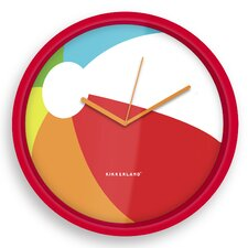 "Beach Ball 8"" Wall Clock"