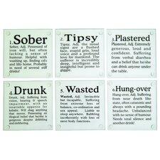 """Drunk?"" Glass Coaster"