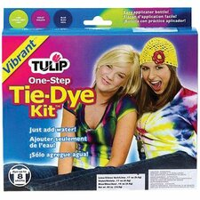 One Step Dyes Vibrant Tie Kit