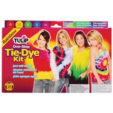 One Step Dyes Rainbow Tie Kit