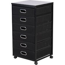 Diamond 6 Drawer Vertical File