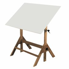 Royal Elm Melamine Drafting Table
