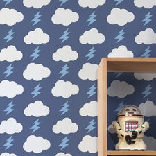 Diorama 15' x 27'' Rainbolts Wallpaper (Set of 2)