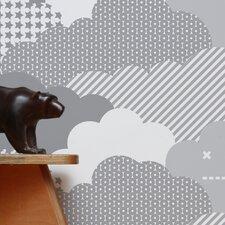 Analog 1' x 8'' Clouds Wallpaper (Set of 2)