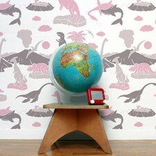 Analog 15' x 28'' Pangea Wallpaper (Set of 2)