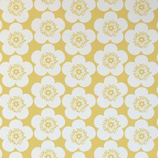 "Analog 15' x 28"" Floral Wallpaper (Set of 2)"