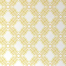 "Diorama Pixel 15' x 28"" Geometric Wallpaper (Set of 2)"
