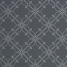 "Analog 15' x 27"" Trellis Wallpaper (Set of 2)"