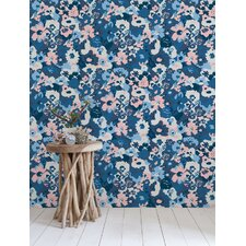 "15' x 28"" Wild Flower Wallpaper (Set of 2)"