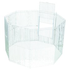 Clean Living 8 Panel Small Animal Playpen
