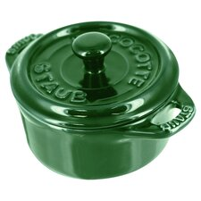 Ceramic Mini Round Cocotte (Set of 3)