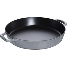 2.5-qt. Cast Iron Saute Pan