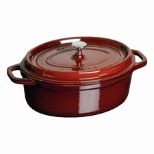 Cast Iron Oval Cocotte