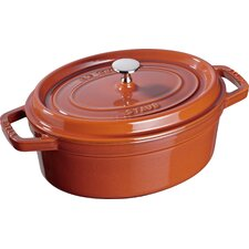 Cast Iron Oval Cocotte - B Good