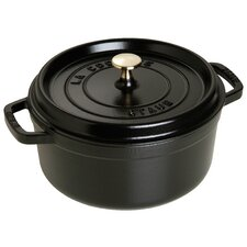 Cast Iron Dutch Oven in Black Matte