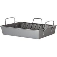 Roast N Rack 41cm Non Stick Aluminized Steel Roasting Pan