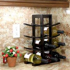 Bamboo 12 Bottle Tabletop Wine Rack