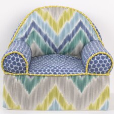 Zebra Romp Kids Cotton Foam Chair